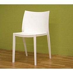 White Accent/ Dining Chairs (Set of 2)
