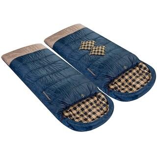Ledge Nevada 0-degree Zip-together Sleeping Bags (Set of 2)