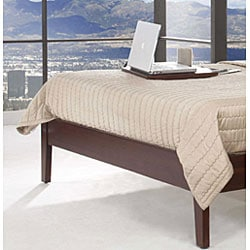 Tapered Leg California King-size Platform Bed - Thumbnail 1