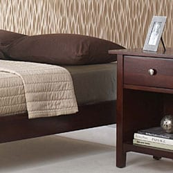 Tapered Leg California King-size Platform Bed - Thumbnail 2