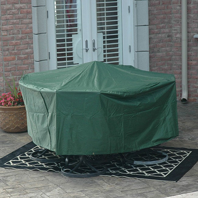 Premium Round Table Outdoor Furniture Cover - Thumbnail 0