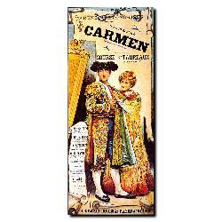 'Carmen' Gallery-wrapped Canvas Art