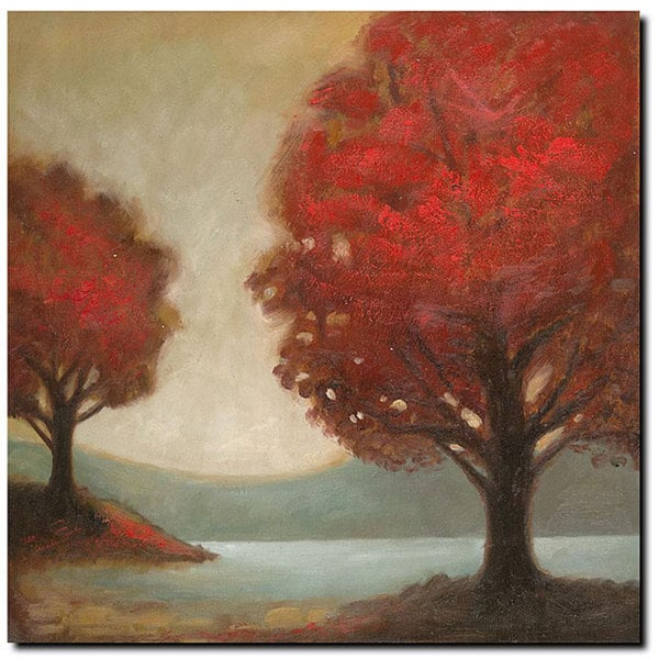 Joval 'Modern Landscape' Gallery-wrapped Canvas Art