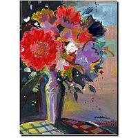 Sheila Golden 'Sunlight Bouquet' Gallery-wrapped Canvas Art