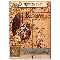 'Verdi' Gallery-wrapped Canvas Art