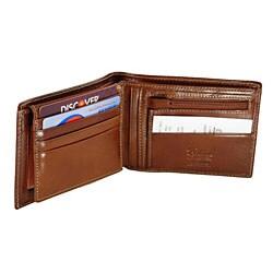 Colombo Flip-up Zipper Coin Wallet