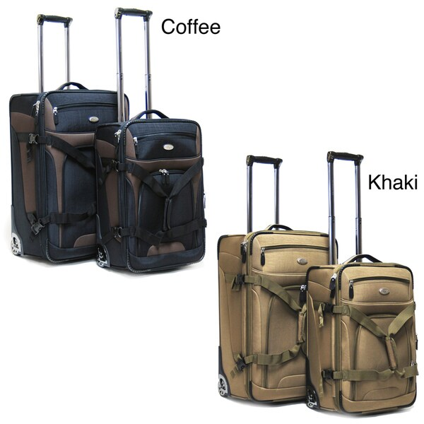 CalPak Journey 2-piece Expandable Checked/Carry On Luggage Set