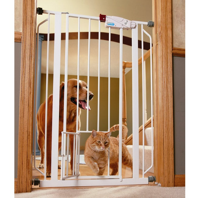Carlson Extra Tall Walk Through Pet Gate 12108635