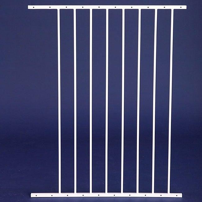 Carlson 24-inch Pet Gate Extension, White