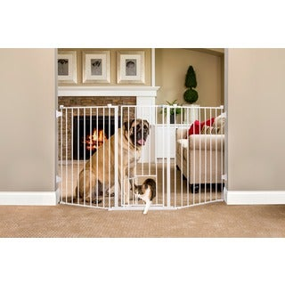 Carlson Pet Products Extra Tall Flexi Pet Gate