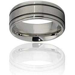 Stainless Steel Beveled-edge Ring
