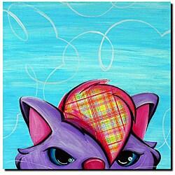 Sylvia Masek 'Kitty' Gallery-wrapped Canvas Art|https://ak1.ostkcdn.com/images/products/4099405/Sylvia-Masek-Kitty-Gallery-wrapped-Canvas-Art-P12110511.jpg?_ostk_perf_=percv&impolicy=medium