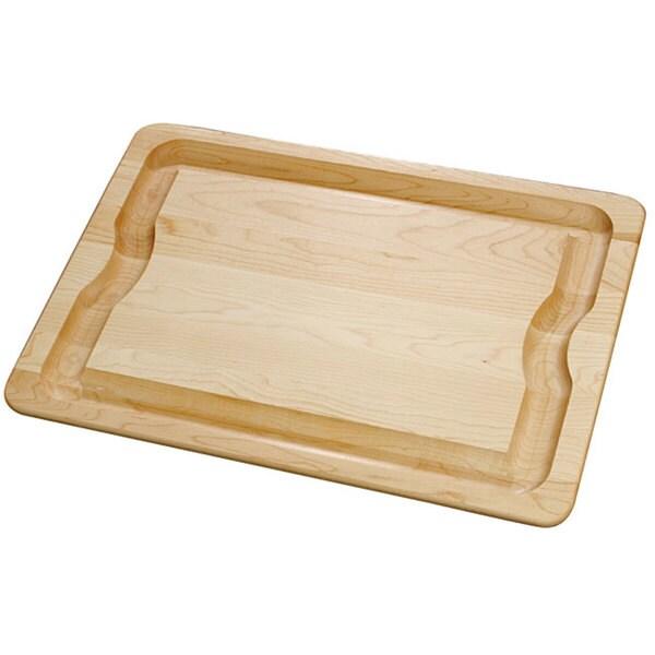 J.K. Adams 20-Inch by 14-Inch BBQ Maple Wood Cutting Board
