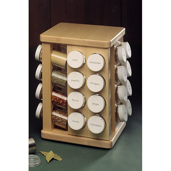 Shop J.K. Adams 32-Bottle Spice Carousel