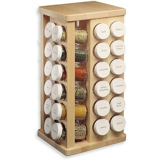 J.K. Adams 48-bottle Spice Carousel