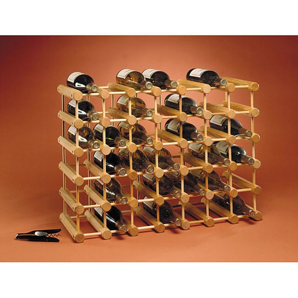 J.K. Adams 40-Bottle Wine Storage Rack Collection