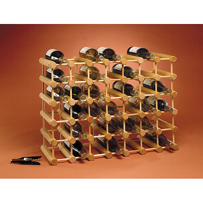 J.K. Adams 40-bottle Natural Wine Rack