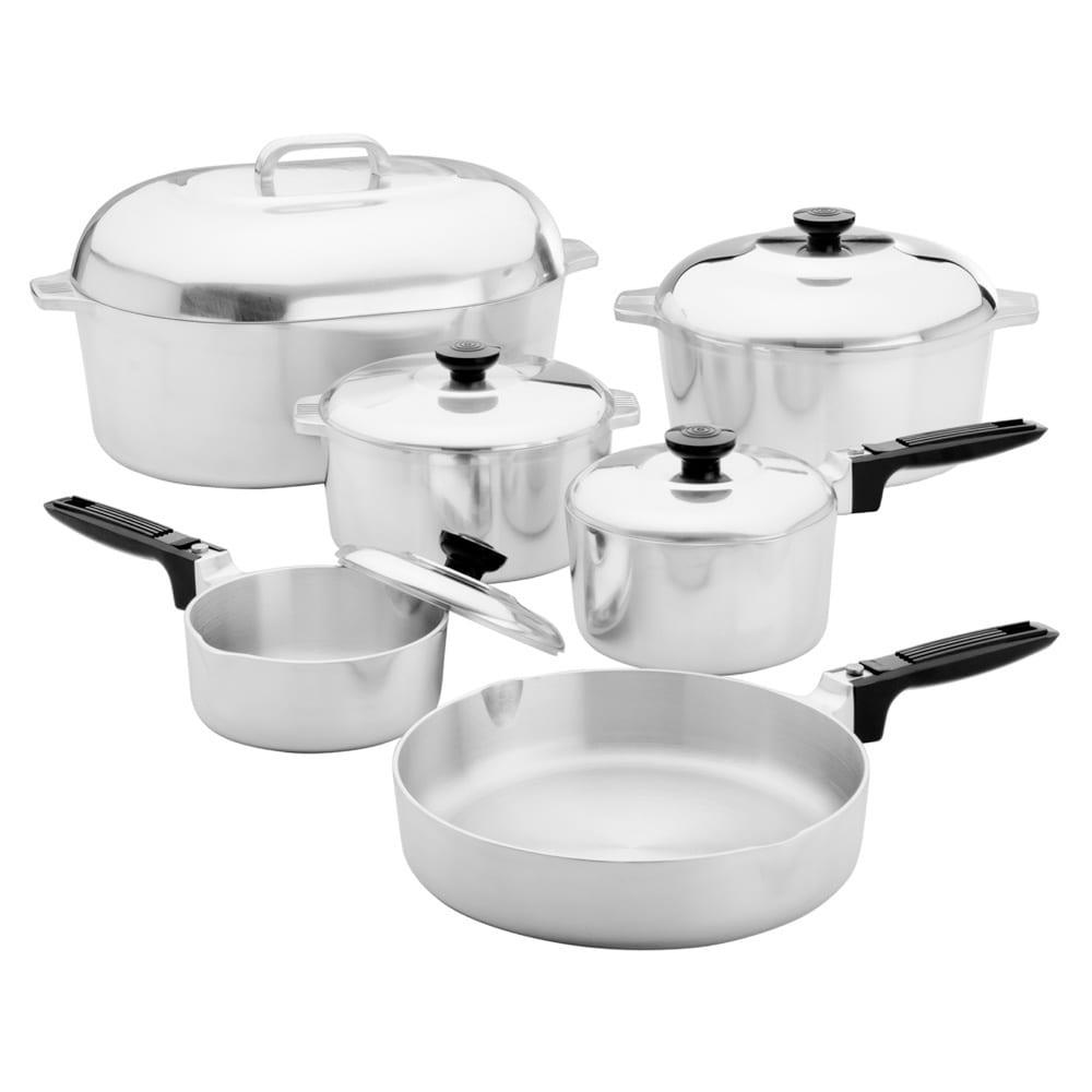 Magnalite Classic 13-piece Cookware Set, Silver (Aluminum)