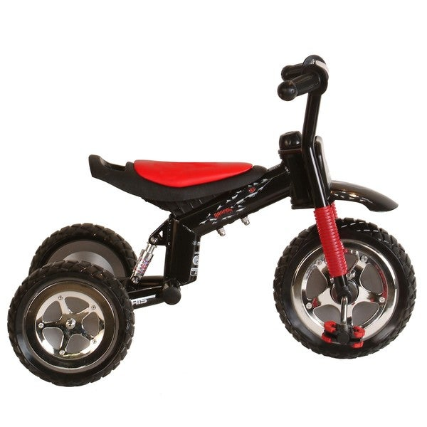Polaris Dragon 10-inch Tricycle Ride-on with Padded Adjustable Seat