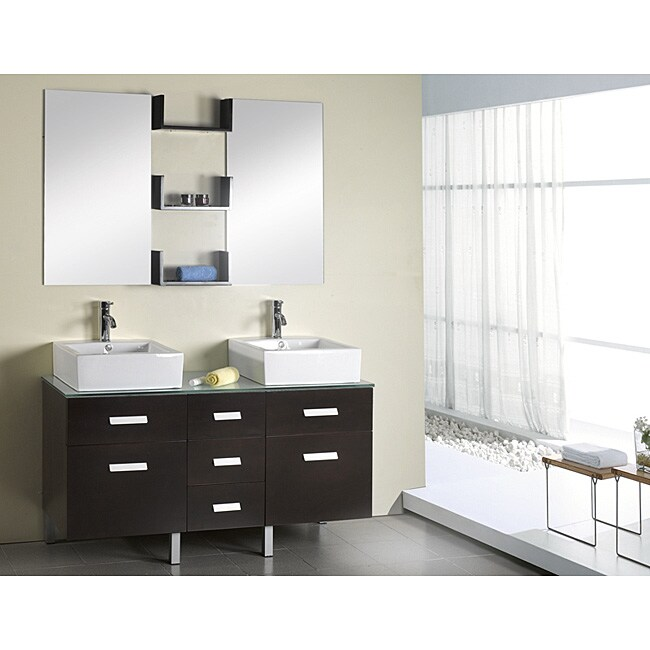 Cool Spa Inspired Small Bathrooms Tall Kitchen And Bath Tile Flooring Clean Good Paint For Bathroom Ceiling Large Bathroom Wall Tiles Uk Young Bathroom Faucets Lowes FreshHome Depot Bath Renovation Virtu USA Maybell 56 Inch Double Sink Bathroom Vanity Set   Free ..