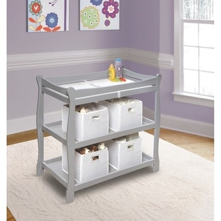 Link to Badger Basket Sleigh Style Baby Changing Table Similar Items in Changing Tables