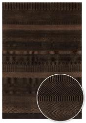 Artist's Loom Hand-knotted Contemporary Stripes Wool Rug (2'x3') - Thumbnail 2