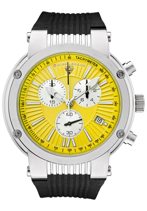 Swiss Legend Men's 'Legato Cirque' Chronograph Watch