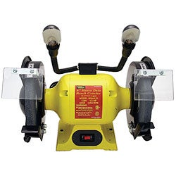 Heavy-duty Two-light 6-inch Bench Grinder