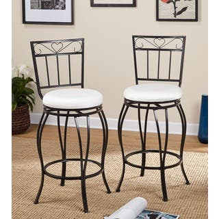 Simple Living Gabriella 30-inch Pub Bar Stools (Set of 2)|https://ak1.ostkcdn.com/images/products/4101280/P12112029.jpg?impolicy=medium