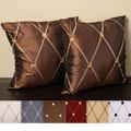 Helena 18-inch Knife Edge Pillows (Set of 2)