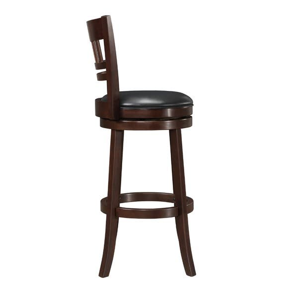 Tremendous Shop Verona Cherry Swivel 29 Inch High Back Barstool By Squirreltailoven Fun Painted Chair Ideas Images Squirreltailovenorg