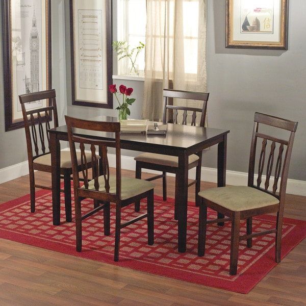 Simple Living Carson 5-piece Dining Set