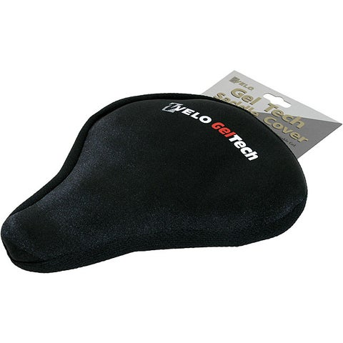 Velo GelTech Large Black Saddle Bicycle Seat Cover