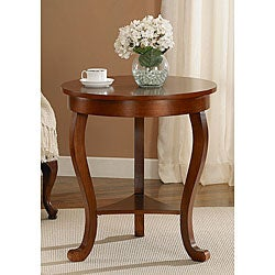 Large Burl Accent Table