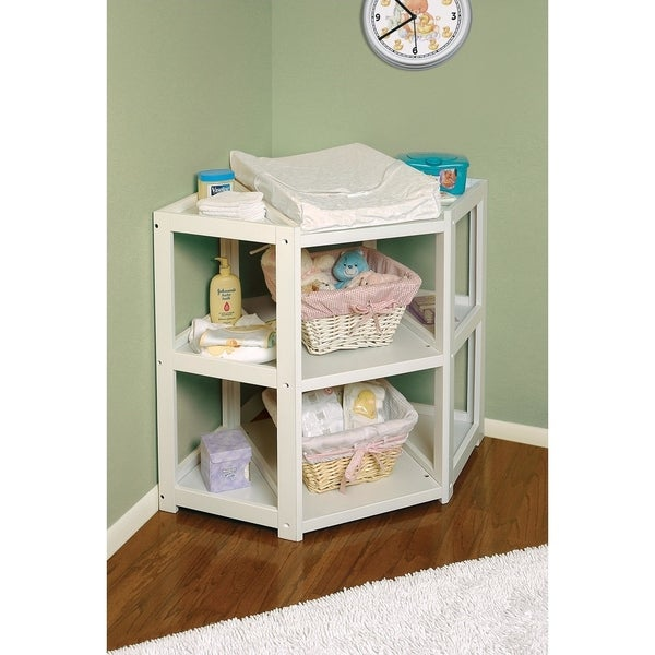 Superieur Badger Basket Diaper Corner Baby Changing Table