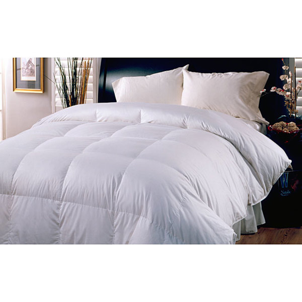 Cotton 250 Thread Count All Season Warm Down Blend Comforter