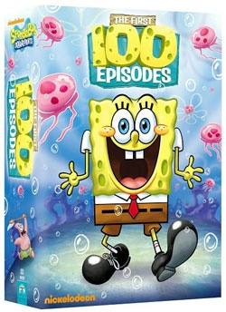 Spongebob Squarepants First 100 Episodes (DVD)