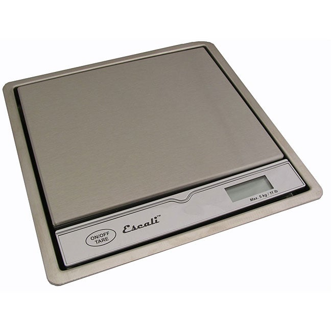 Escali Pronto Stainless Steel Surface Scale