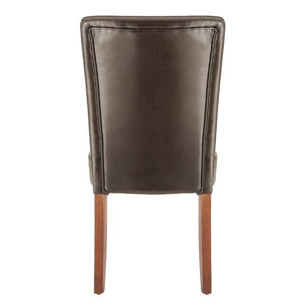 Super Shop Parson Faux Leather Dining Chairs Set Of 2 By Inspire Beatyapartments Chair Design Images Beatyapartmentscom
