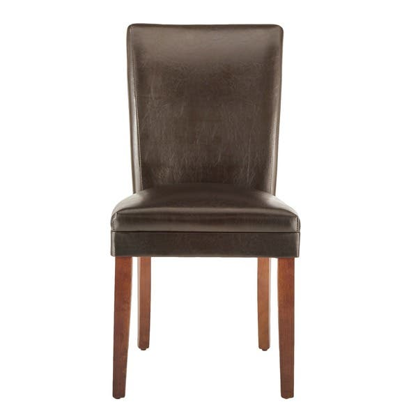 Peachy Shop Parson Faux Leather Dining Chairs Set Of 2 By Inspire Beatyapartments Chair Design Images Beatyapartmentscom