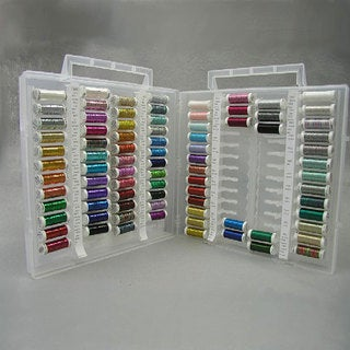 Sulky Dream Assortment of Brilliant Metallic Thread (84 Colors)