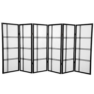 Spruce Wood 48-inch Double Cross Room Divider (China)