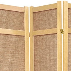 Awe Inspiring Handmade Wood And Jute 6 Foot 5 Panel Room Divider China Overstock Com Shopping The Best Deals On Decorative Screens Download Free Architecture Designs Scobabritishbridgeorg