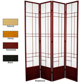 Link to Handmade Spruce Wood 84-inch Eudes Room Divider (China) Similar Items in Decorative Accessories