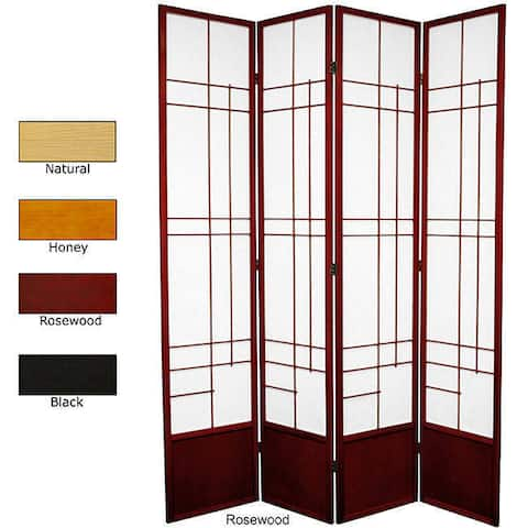 Handmade Spruce Wood 84-inch Eudes Room Divider (China)