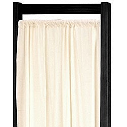 Handmade Wood and Cotton Helsinki 4-panel Room Divider (China)