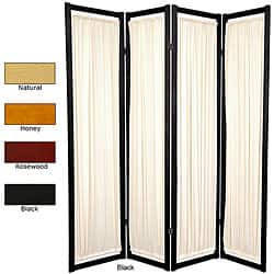 Panel Room Dividers Decorative Screens Shop The Best Deals - 4 panel room divider