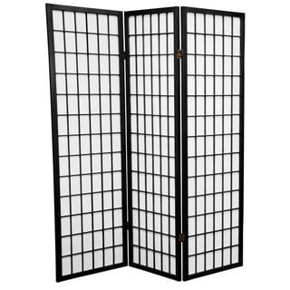 Link to Handmade 5' Wood and Rice Paper Window Pane Room Divider Similar Items in Decorative Accessories