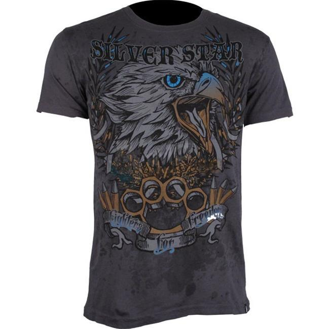 Silver Star Men's Fighters for Freedom T-shirt