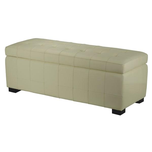 Good Safavieh Manhattan Large Off White Storage Bench